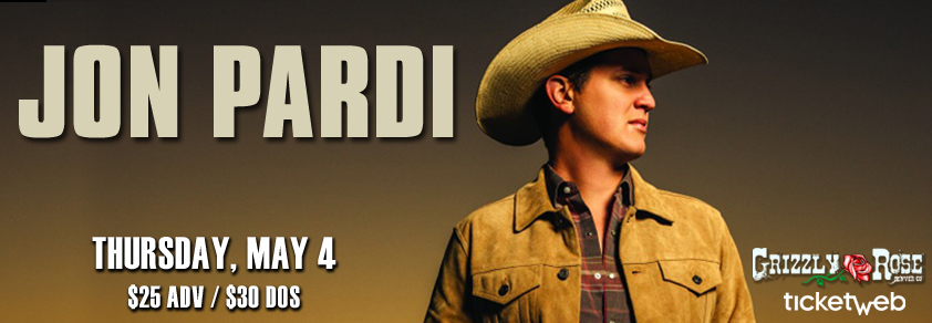 Jon Pardi Grizzly Rose