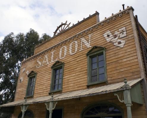 Wild Western Towns in USA