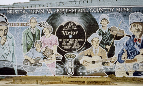Mural to Country Music