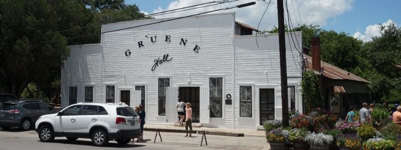 Gruene Hall Famous Country Music Venue