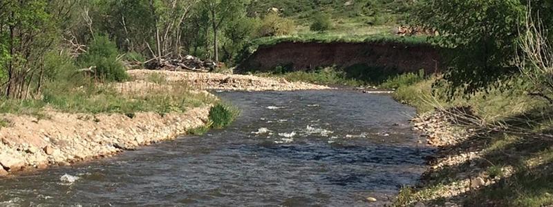 St Vrain Creek Tubing