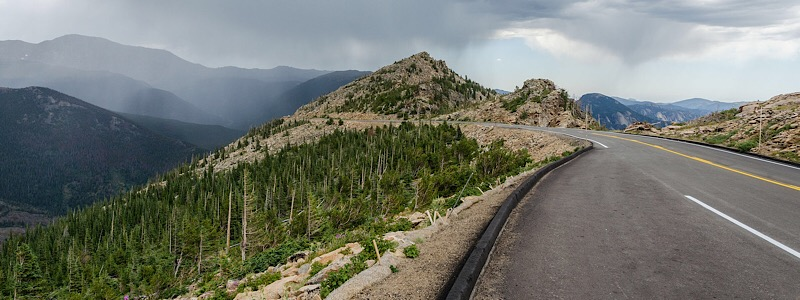 Trail Ridge Road Colorado View