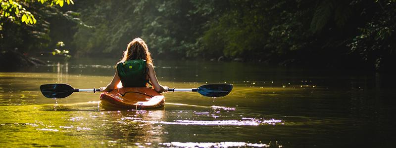 Kayaking in Colorado Summer
