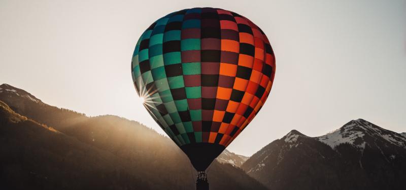 hot air balloon rides colorado